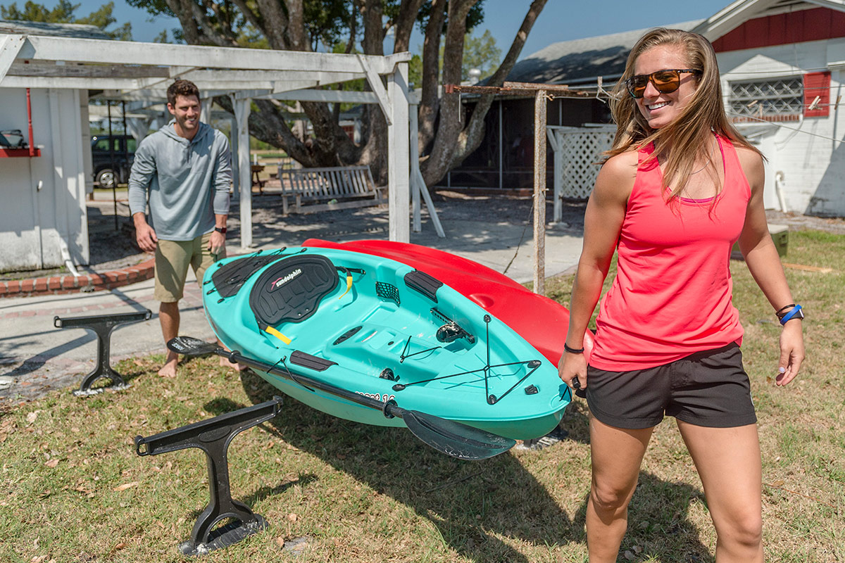 Kayak Storage For Small Spaces Footstake